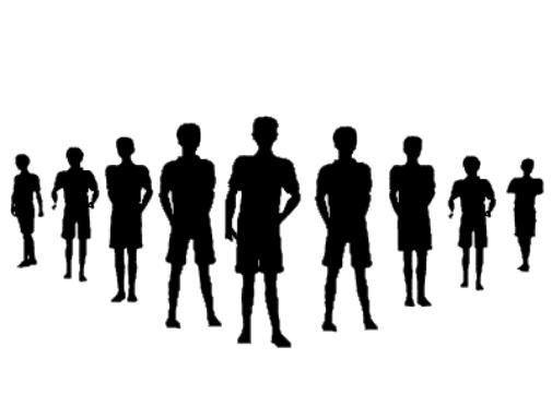Männliche Jugend